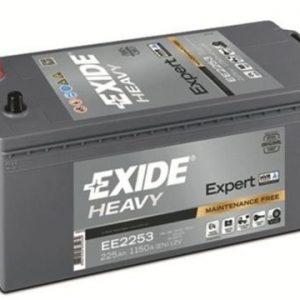EXIDE-EE2253 EXPERT HVR® 12V-225Ah / EN 1150A / L518 / W279 / H240 Akumulators