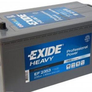 EXIDE-EF2353 PROFESSIONAL POWER-HDX 12V-235Ah / EN 1300A / L518 / W279 / H240 Akumulators