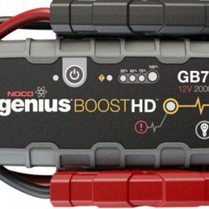 NOCO Genius GB70 Booster 12V 2000A 55Wh Lithium Jump Starter, Starta-uzlādēšana ierīce
