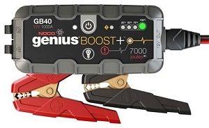 NOCO Genius GB40 Booster 12V 1000A 24Wh Lithium Jump Starter, Starta-uzlādēšana ierīce