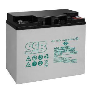 SBL 40-12i_SSB akumulators / AGM / 12V-42.2/C20 / terminal FO-11 M6 (10-12 g.) L197 W165 H169