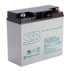 SBL 7.2-12_SSB akumulators / AGM / 7,2Ah-12V / terminal T1-4.8 mm (10-12 g.) L151 W65 H94