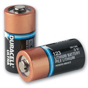 Duracell CR123A ULTRA Lithium 3V Photo battery (1gab. Bulk)