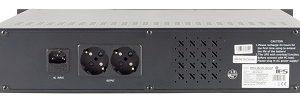 "UPS-IPS RACK19""2U 1200VA/720W/230V 1ph/1ph, internal 2x12V/7Ah AGM mod.sin wave, line-interactive"