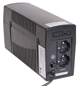 UPS-IPS 600VA/360W/230V 1ph/1ph, internal 1x12V/7Ah AGM modified sin wave, line-interactive