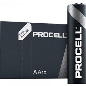 DURACELL PROCELL LR06 PROFESSIONAL Alkaline AA Mignon battery PR1500 1,5V / box 10 gab / box 10 gab