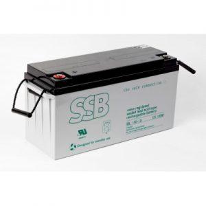 SBL 55-12i_SSB akumulators / AGM / 12V-58.8/C20 / terminal FO11 M6 (10-12 g.) L229 W138 H213