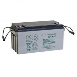 SBL 55-12i_SSB akumulators / AGM / 55Ah-12V / terminal FO11 M6 (10-12 g.) L229 W138 H213