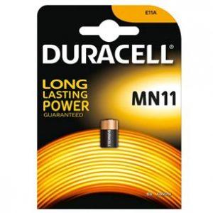 Duracell MN11 Alkaline Manganese Dioxide Battery 6V (1gab. blister)