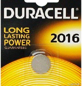Duracell Lithium CR2016 button cell 3V (iepak 1 gab.)