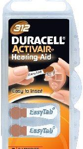 Duracell DA312N6 Zinc Air batteries 1,4V BP-6 (6 gab. box)