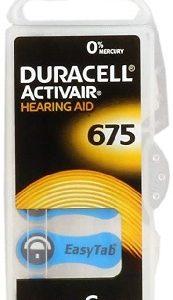 Duracell DA675N6 Zinc Air batteries 1,4V BP-6 (6 gab. box)