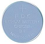 Fujitsu Lithium CR2032 button cell 3V (iepak 1 gab.)