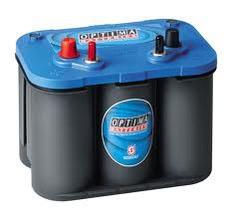 OPTIMA BLUE TOP BT SLI-4.2 / 12V-50Ah AGM STARTER BATTERY CCA (EN) 815A L254 W175 H200 mm