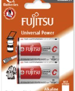 FUJITSU LR14 (2B) 1.5V size C Alkaline Batteries Universal Power (2gab. blister)