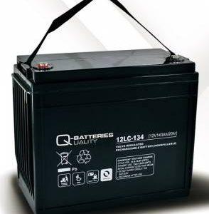 12LC-134 12V 143Ah/C20 (term. F12 M8) - Q-BATTERIES AGM (VRLA) Deep cycle battery L340 W173 H280