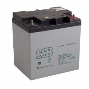 SBL 28-12i(sh)_SSB akumulators / AGM / 12V-28Ah/C20 / terminal FO-13 M5 (10-12 g.) L165 W126 H175