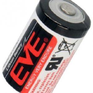 EVE ER14250 battery Lithium-teonyl Chloride (Li-SOCI2)  3,6V 1,2Ah (1/2AA)