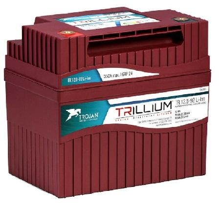 AKUMULATOR TROJAN TRILLIUM LITHIUM 12.8V-92Ah (1180Wh) Model-TR12.8-92 Li-ion
