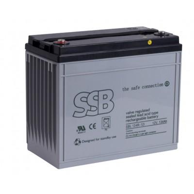 SBL 134R-12i_SSB akumulators / AGM / 12V-136.8Ah/C20 / terminal FO-12 (10-12 g.) L341 W173 H288