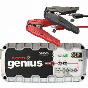 NOCO Genius G26000 EU charger lead acid & lithium batteries 12V/24V 26A (lādēšanas ierīce)