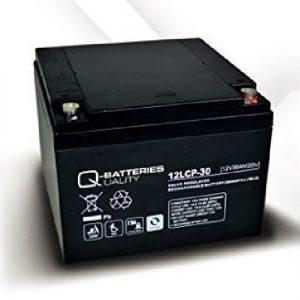 12LCP-30 12V 30Ah/C20 (term. F3/F13) — Q-BATTERIES AGM (VRLA) Deep cycle battery L166 W175 H125