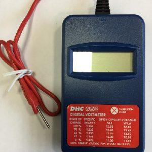 DHC OCV2 Digital tester-voltmeter 4,5V-19,99V (akumulatora testeri)