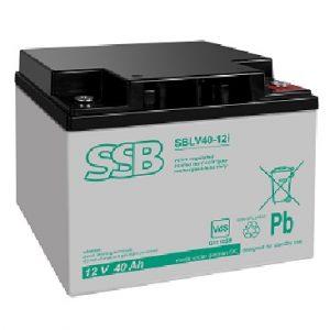 SBLV 40-12i (VdS)_SSB akumulators / AGM / 40Ah-12V / terminal M6 (10-12 g.) L197 W165 H170
