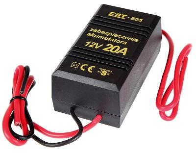 STEF-POL EST-805 battery protection 12V/20A