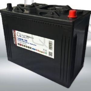 12SEM-135 Q-BATTERIES_Semi-Traction battery 12V C20-135Ah; 800A (EN) L349 W175 H290 A-terminal