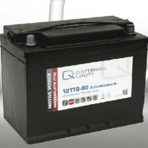12TTB-90; 12V 90Ah-C20;Q-BATTERIES_Tubular plate batteries L303 W175 H225 A-terminal