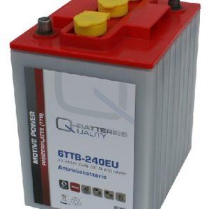 6TTB-240EU; 6V 240Ah-C20; Q-BATTERIES_Tubular plate batteries L242 W190 H275 A-terminal