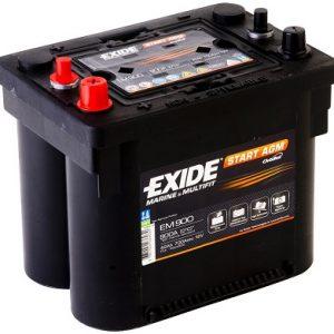 EXIDE EM900 AGM Orbital 12V-42Ah CCA(EN) 700A L230 W173 H206