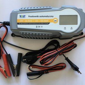VOLT POLSKA 10A MAX 12V-10A/24V-5A Universal charger lādēšanas ierīce