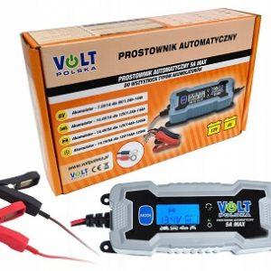 VOLT POLSKA 5A MAX 6V-1A/12V-5A LCD display (IP65) Universal charger lādēšanas ierīce